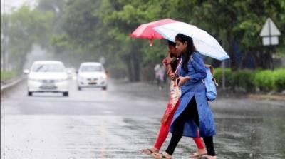بارش نے پنجاب کے مختلف علاقوں میں موسم خوشگوار بنادیا