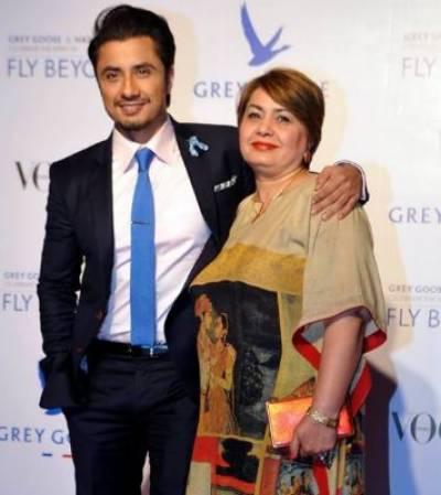 میرے نزدیک مرد اور عورت دونوں محترم ہیں ، والدہ علی ظفر