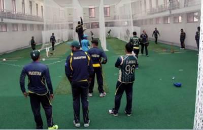 دورہ انگلینڈ کیلئے قومی ٹیم کے تربیتی کیمپ میں حیران کن مناظر
