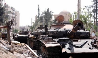 شامی حکومت سے مذاکرات کامیاب، داعش کا دمشق خالی کرنے کا اعلان