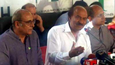 اداکار ساجد حسن پیپلز پارٹی میں شامل ہو گئے