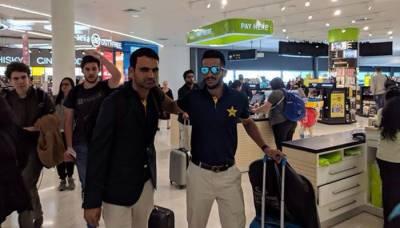 قومی ٹیم دورہ برطانیہ کیلئے روانہ،محمد عامر ویزہ نہ ملنے پر ٹیم کے ہمراہ نہ جاسکے