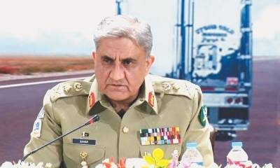 آرمی چیف سے سری لنکن آرمی کمانڈر کی ملاقات،باہمی دلچسپی کے امور پر تبادلہ خیال