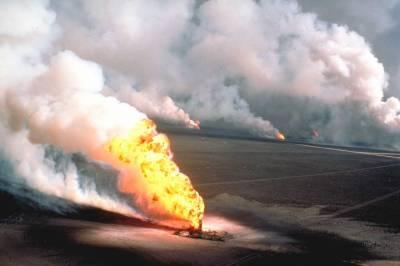 کویت کے آئل پلانٹ میں اچانک آگ بھڑک اٹھی