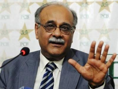 حسن علی نے وہی کیا جو اس کا دل چاہا، نجم سیٹھی کا بھارتی صحافی کو کرارا جواب