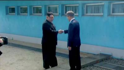 شمالی اور جنوبی کوریا کے سربراہان کی 65 برس بعد تاریخی ملاقات