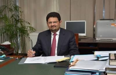 مشیر خزانہ مفتاح اسماعیل نے وفاقی وزیر کے عہدے کا حلف اٹھالیا
