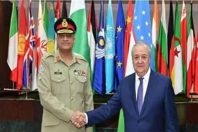 آرمی چیف کی ازبک صدر سے ملاقات، دہشت گردی کیخلاف پاکستان کی کامیابیوں کو سراہا