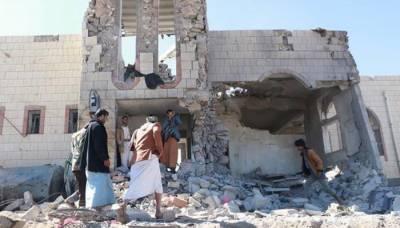 سعودی اتحادی افواج کی یمنی وزارت داخلہ پر بمباری، 50 افراد ہلاک
