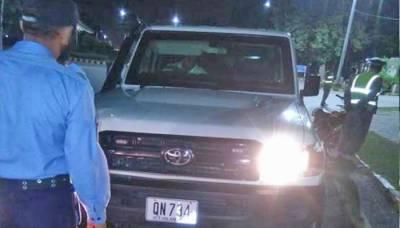اسلام آباد، امریکی سفارتکار کی گاڑی کی ٹکر سے دو موٹر سائیکل سوار زخمی