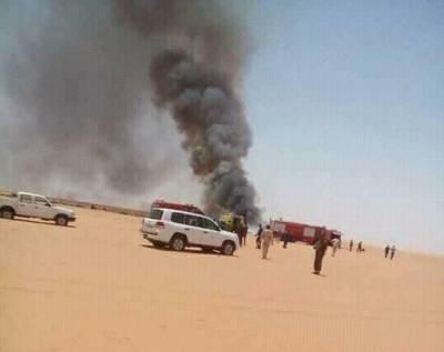 کارگو طیارہ گرنے سے لیبیا میں پائلٹ سمیت 3 افراد ہلاک