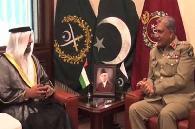 آرمی چیف جنرل قمر سے اماراتی سفیر ، ترک آرمی چیف کی الگ الگ ملاقاتیں