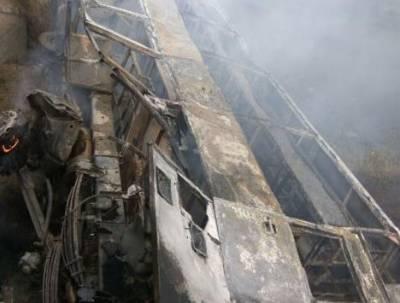 بھارت کی ریاست بہار میں بس میں آگ لگنے سے 27 افراد ہلاک