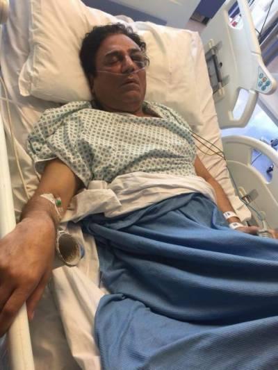 نعیم بخاری کی ہسپتال سے تازہ ترین تصویر نے سب کو افسردہ کر دیا