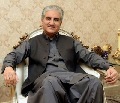 """شاہ محمود قریشی نے عمران خان کی آمد پر """"لبیک اللھم لبیک """" کہنے پر معذرت کرلی"""