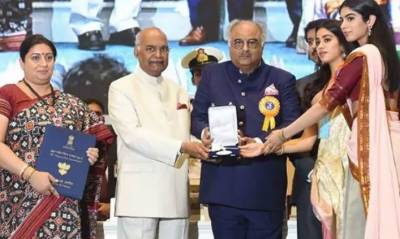 مرنے کے بعد سری دیوی کو پہلا اور آخری نیشنل ایوارڈ دیا گیا