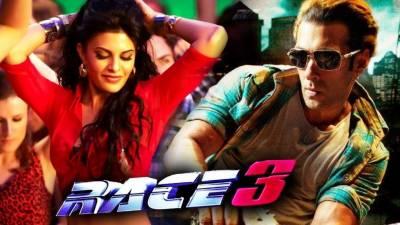سلمان خان کی فلم 'ریس 3' کو ڈسٹری بیوشن رائٹس کی مد میں 190 کروڑ روپے کی پیشکش