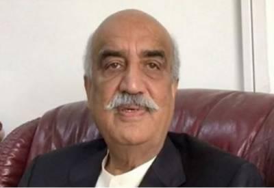 میڈیا کے ڈر سے نگراں وزیراعظم کا نام نہیں بتا رہے: خورشید شاہ