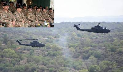 جہلم: پاک فوج اور فضائیہ کا مشترکہ روایتی فائر پاور صلاحیت کا مظاہرہ