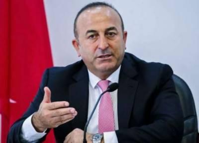 امریکا نے ہتھیاروں کی فروخت روکی تو سخت ردعمل ظاہر کریں گے: ترک وزیر خارجہ
