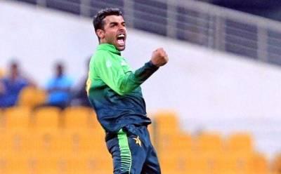 شاداب خان نے دنیائے کرکٹ میں نئی تاریخ رقم کردی