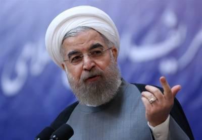 امریکی صدر کا اعلان عالمی معاہدوں کی خلاف ورزی ہے، حسن روحانی