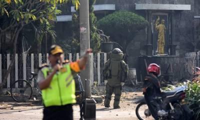 انڈونیشیا کے شہر سورابابا میں تین دھماکے،9 افراد ہلاک،کئی زخمی