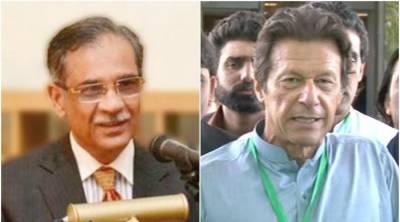 عمران خان عدالت کا لاڈلہ نہیں ہے:چیف جسٹس پاکستان