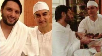 شاہد آفریدی نے عامر خان سے متعلق بڑی خواہش ظاہر کر دی