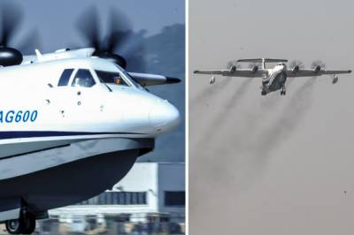 چین نے پانی اور خشکی پر سے پرواز کرنے والا طیارہ تیار کر لیا