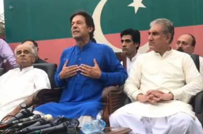 نواز شریف کے بیان سے بھارت کو بہت فائدہ ہوا: عمران خان