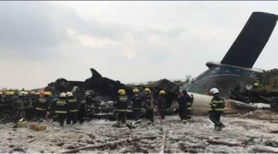 نیپال میں موسم کی خرابی کے باعث کارگو طیارہ گر کر تباہ