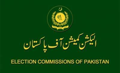 الیکشن کمیشن کی ویب سائٹ پر عام انتخابات کی تاریخ 31 جولائی 2018 درج