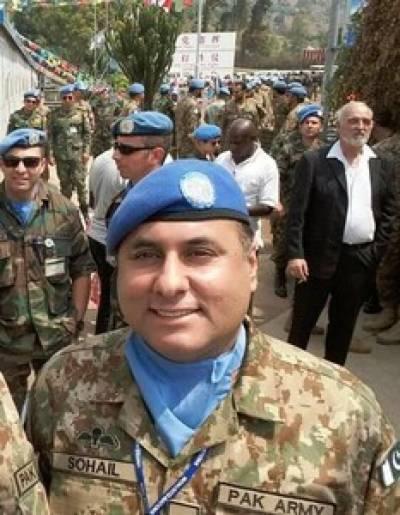 جام شہادت نوش کرنےوالے کرنل سہیل عابد کی نظم سے ہر آنکھ اشکبار