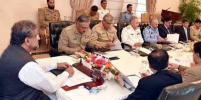 قومی سلامتی کمیٹی کا اجلاس، بھارتی بلااشتعال فائرنگ کے واقعات کی مذمت