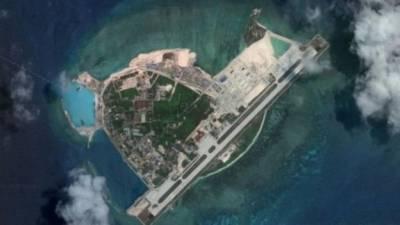 جنوبی بحیرہ چین: متنازع جزیرے پر چینی بمبار طیاروں کی لینڈنگ