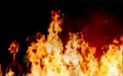 گوالمنڈی کے قریب ربڑ کے گودام میں لگی آگ پر قابو پا لیا گیا