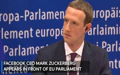 مارک زکر برگ یورپی پارلیمنٹ میں پیش ، صارفین کے ڈیٹا کو محفوظ بنانے کے اقدامات پر زور