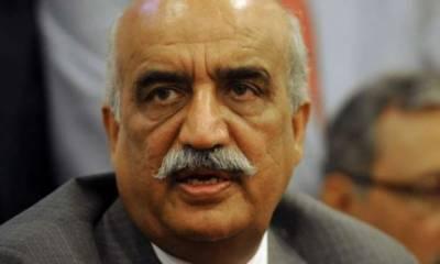 نگراں وزیراعظم کا معاملہ پارلیمانی کمیٹی کے پاس جائے گا، خورشید شاہ