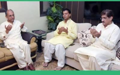 وزیر اعلی سندھ کی سبیکاکے گھر آمد ،اہل خانہ سے تعزیت کا اظہار