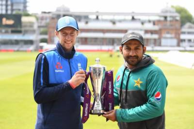 پاکستان اور انگلینڈ کا پہلا ٹیسٹ میچ آج سے لارڈ ز میں شروع ہوگا