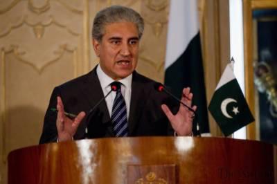 سابق صدر پرویز مشرف نواز شریف کی مرضی سے ہی ملک سے باہر گئے:شاہ محمود قریشی