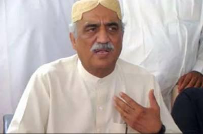 اب شاہد خاقان عباسی سے نگران وزیراعظم کے معاملے پر ملاقات نہیں ہوگی: خورشید شاہ