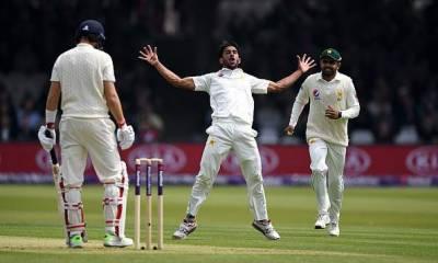 لارڈز ٹیسٹ، انگلش ٹیم پہلی اننگز میں184 رنز پر آوٹ