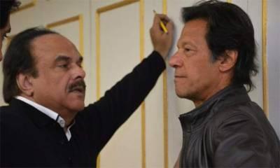 تھپڑ مارنے پر عمران خان نے مبارکباد دی، نعیم الحق