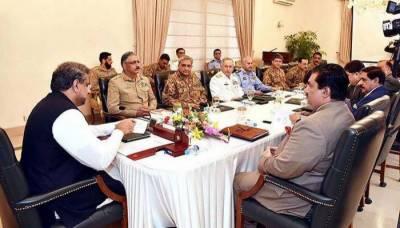 قومی سلامتی کمیٹی کے اجلاس میں ملکی سلامتی اور سرحدی سیکیورٹی صورتحال کا جائزہ لیا گیا