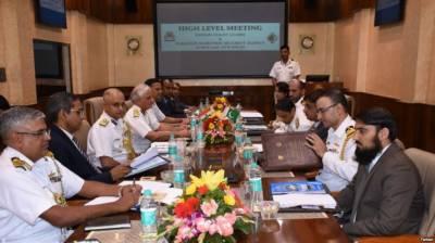 پاک بھارت میری ٹائم سیکیورٹی کے وفود کی دو سال بعد نئی دہلی میں ملاقات