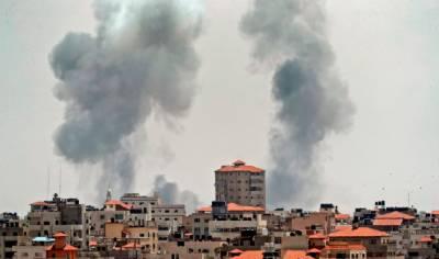 اسرائیلی فضائیہ کے غزہ کے مختلف علاقوں میں راکٹ حملے
