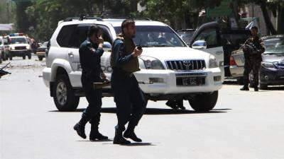 کابل، وزارت داخلہ کی عمارت کے قریب دھماکا اور فائرنگ