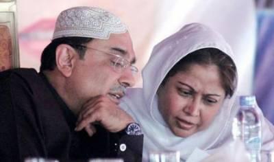 فریال تالپور پر اقامہ ہولڈر ہونے کا الزام ، نا اہلی کیلئے درخواست دائر